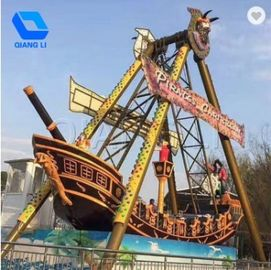 China 32 Seats Pirate Ship Ride Customization Available With Music / Colorful Lights factory