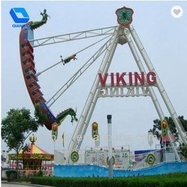 China Portable Pirate Ship Ride 32 Seats For Theme Park Rides / Amusement Park factory