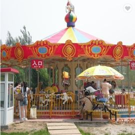 China Attractive Classic Amusement Park Rides , Carnival Merry Go Round Playground factory