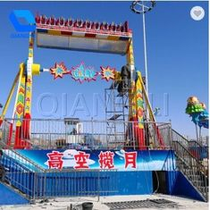 Thrilling Amusement Park Rides , Top Spin Carnival Ride For Outdoor Playground Equipment