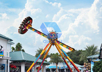 Attractive Big Pendulum Ride Amusement Park Equipment With Colorful Lights