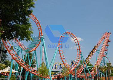 China 24 Seats Theme Park Roller Coaster Amusement Park Equipment Mini Roller Coaster Ride factory