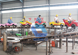 China Fashion Theme Park Roller Coaster Lease Electric Children Mini Shuttle Rides factory