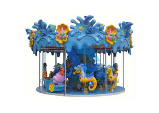 China Custom Theme Park Carousel Indoor Amusement Equipment Mini Mini Carousel Ride factory