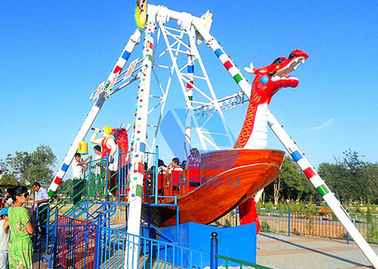 China Popular Pirate Ship Ride , 24 Seats Kids Swing Ride For Amusement  Parks factory