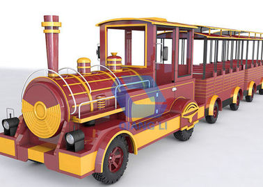 Kid Friendly Train Rides , Happy Carnival Amusement Rides Color Customized
