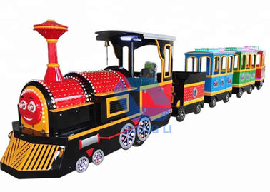 Outdoor Carnival Train Ride , Popular Electric Train Rides For Kids