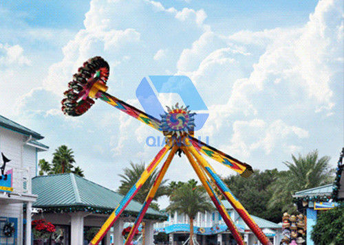 Attractive Big Pendulum Ride Amusement Park Equipment With Colorful Lights supplier